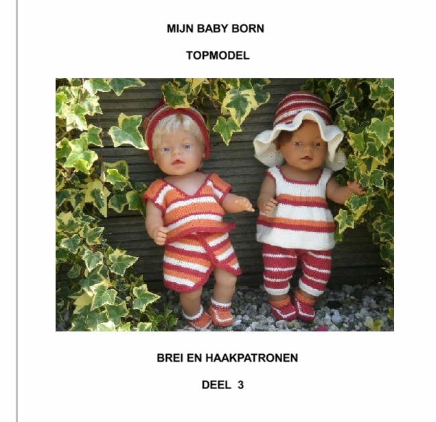 Kruidvat Baby Born Brei Haakpatr